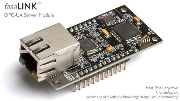 The fasaLINK OPC-UA Server Module from